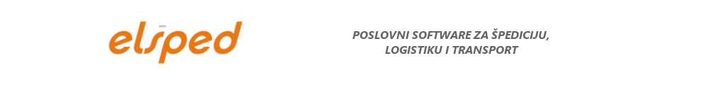 Elšped :: Poslovni software za špediciju, logistiku i transport